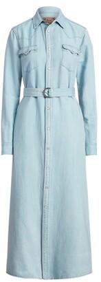 Ralph Lauren Denim A-Line Shirtdress