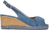 Castaner Brianda wedge sandals - women - Cotton/Leather/rubber - 39