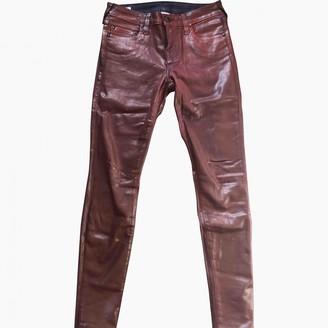 True Religion Burgundy Denim - Jeans Jeans for Women