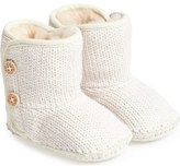 UGG 'Purl' Knit Bootie (Baby & Walker)