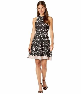 Milly Women's Floral Mesh Jacquard Flow Dress