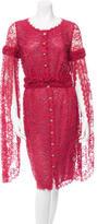 Chanel Lace Midi Dress