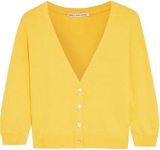 Cotton By Autumn Cashmere Cropped Cotton-blend Cardigan