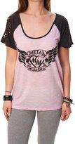 Metal Mulisha Women's Learn To Fly Short Sleeve Top