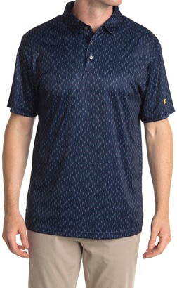 Jack Nicklaus Short Sleeve Toucan Print Printed Polo