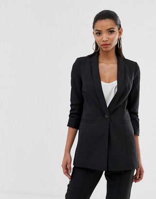 Asos Design DESIGN mix & match suit blazer in black