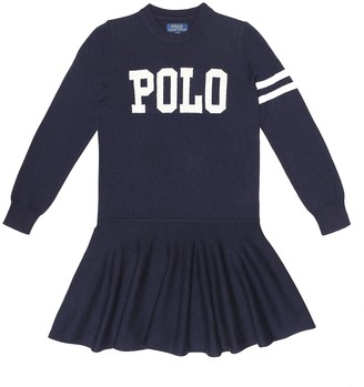 Polo Ralph Lauren Wool and cotton dress