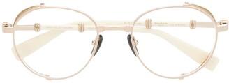 Balmain Eyewear Brigade I round-frame glasses