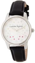 Nanette Lepore Women&s Ava Leather Watch