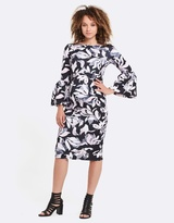 Soon Myra Ruffle Maternity Dress