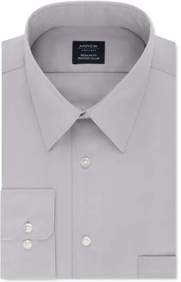 Arrow Men Classic-Fit Performance Stretch Dress Shirt