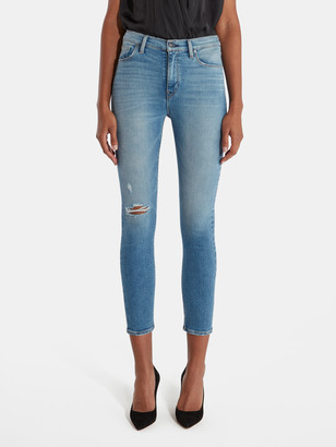 Hudson Holly High Rise Skinny Ankle Jeans