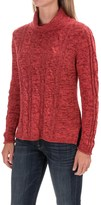 Nomadic Traders High-Low Turtleneck Sweater (For Women)