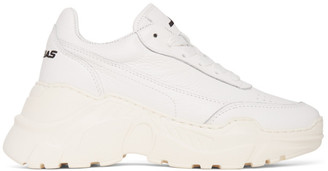 Joshua Sanders White Zenith Sneakers