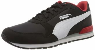 Puma Unisex Adults ST RUNNER V2 NL Fitness Shoes Black White 7.5 UK