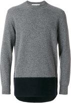 Marni colour block sweatshirt - men - Wool - 48