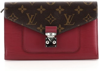 Louis Vuitton Marie-Rose Wallet Monogram Canvas and Epi Leather