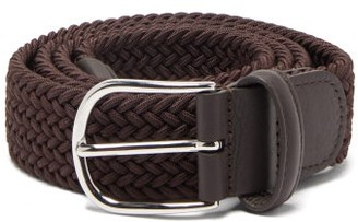 Andersons Woven Elasticated Belt - Brown