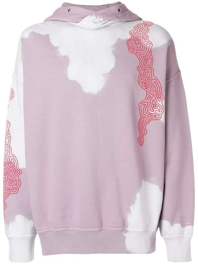 Damir Doma boxy printed hoodie