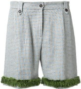 Jupe By Jackie tile pattern shorts