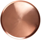 Houseology Jansen + co Copper Tray Round Large