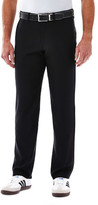 Haggar In Motion Active Pant - Slim Fit, Flat Front, Super Flex Waistband