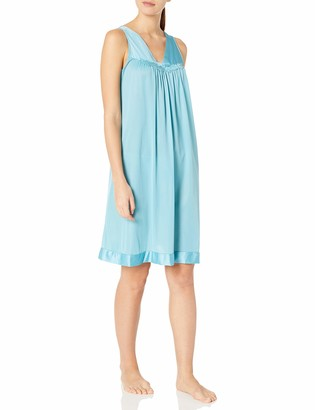 Exquisite Form Women's Sleeveless Knee Length Nightgown