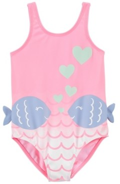 Carter's Baby Girls Fish Swimsuit