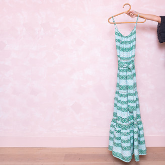 Devotion Long Zakar Dress - Unique size | cotton | mint green - Mint green