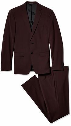 Calvin Klein Men's Slim Fit Stretch Wool Suit