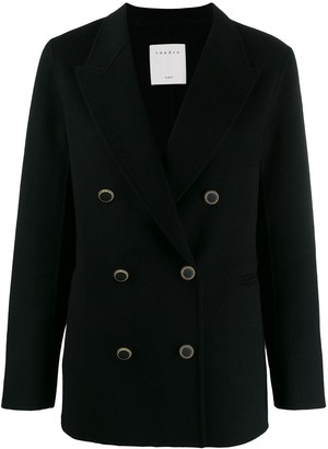 Sandro Paris double-breasted jacket