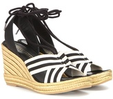 Marc Jacobs Dani Metallic Wedge Espadrille Sandals