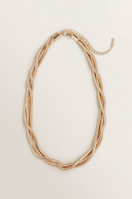 Seed Heritage Twisted Gold Necklace