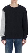 Maison Margiela Men's Deconstructed Sweatshirt-DARK GREY