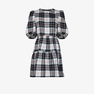 Shrimps Smith tiered gingham dress