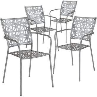 Ebern Designs Ocilla Stacking Patio Dining Chair Ebern Designs