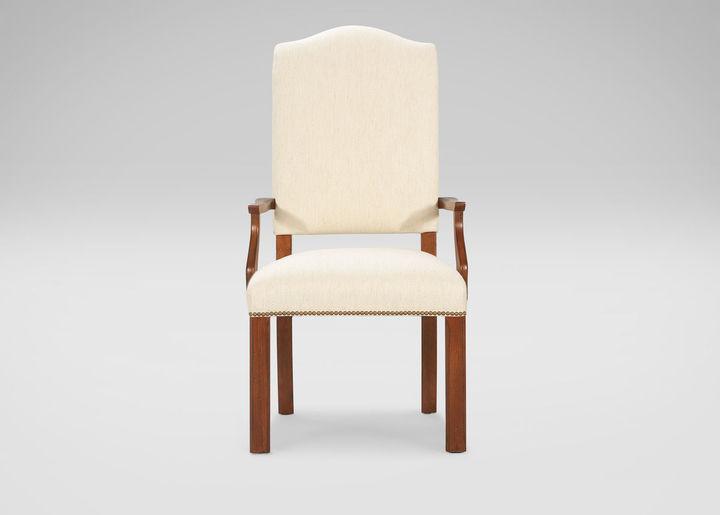 Ethan Allen Hadley Parson-Leg Armchair