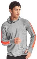 Gap Brushed tech jersey running hoodie