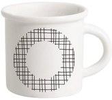 Letter O Porcelain Mug