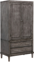 Gray Gala Two-Drawer Armoire