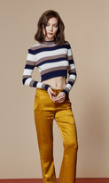 Again Collection - Winona Crop Sweater Style 1