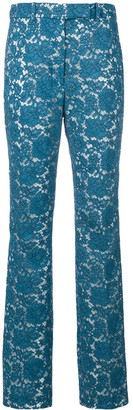 Calvin Klein Lace Tailored Trousers