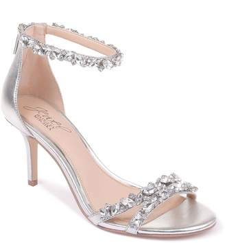 Badgley Mischka Caroline Satin Sandals