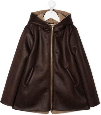 Douuod Kids Zip-Through Hooded Jacket