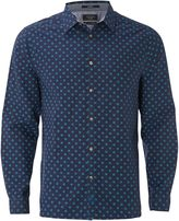 White Stuff Halla Geo Print Long Sleeve Shirt
