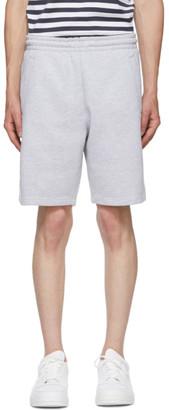 Acne Studios Grey Fleece Shorts