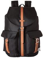 Herschel Dawson (Black/Tan Synthetic Leather) Bags