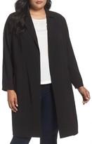 Vince Camuto Plus Size Women's Long Jacket