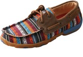 Twisted X Women's Leather And Fabric Boat ShoeDrving Mocs