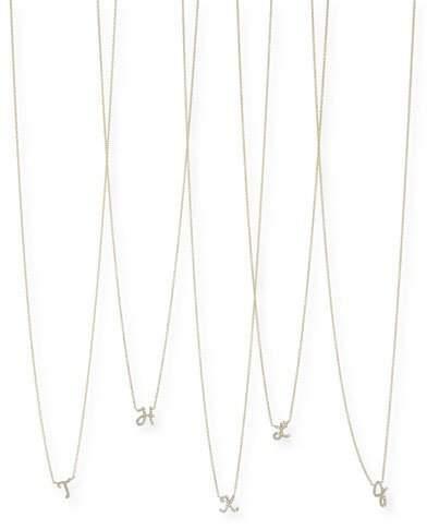 Sydney Evan Diamond Initial Pendant Necklace